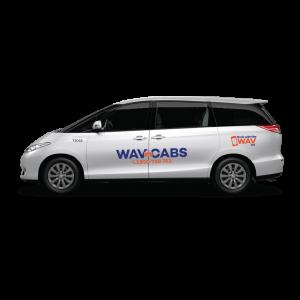 7 seat maxi cab