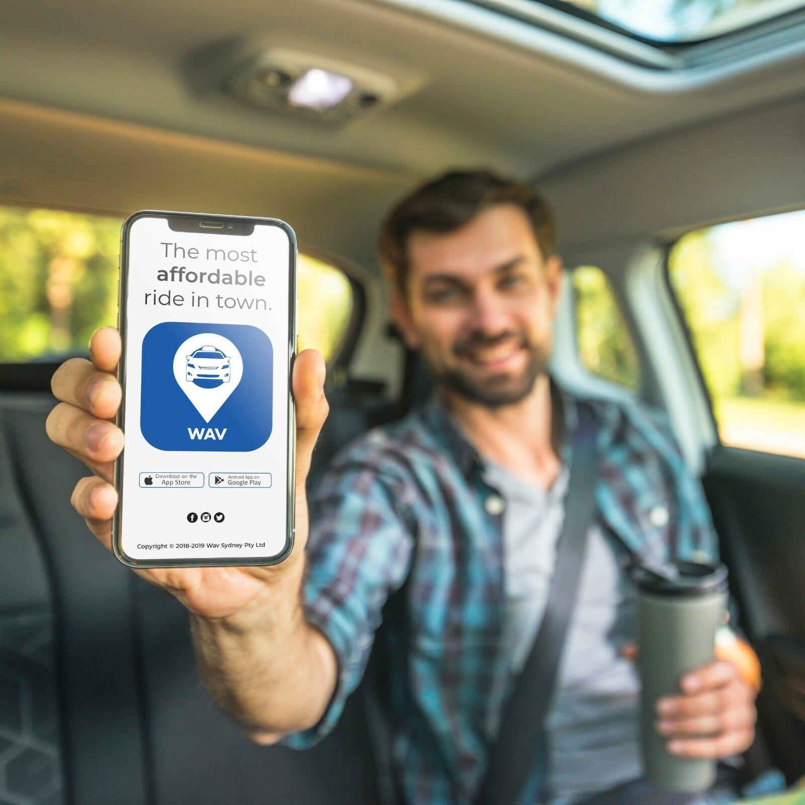 maxi taxi sydney app