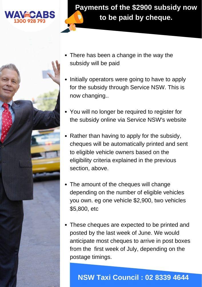 nsw taxi council eligibility